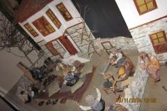 Utställning av ett traditionellt turkiskt hem